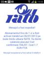 RATB SMS Pass screenshot 2/2