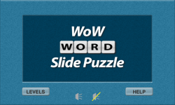 WoW Word Slide Puzzle Free screenshot 1/2