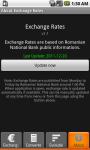 Exchange Rates App screenshot 1/6