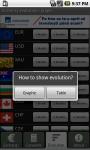Exchange Rates App screenshot 5/6