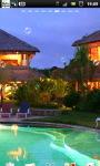 Luxury Villa Ubud Bali Live Wallpaper screenshot 1/6