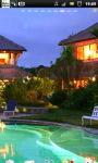 Luxury Villa Ubud Bali Live Wallpaper screenshot 2/6
