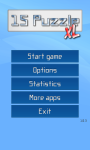 15 Puzzle XL screenshot 1/4
