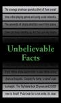Unbelievable Facts 240x400 screenshot 1/1