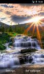 Waterfall Rays Live Wallpaper screenshot 2/3