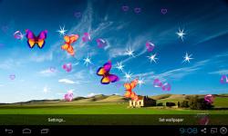 3D Blue Sky Live Wallpaper screenshot 1/5