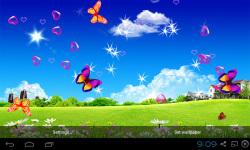 3D Blue Sky Live Wallpaper screenshot 2/5