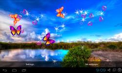 3D Blue Sky Live Wallpaper screenshot 3/5
