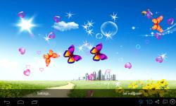 3D Blue Sky Live Wallpaper screenshot 5/5