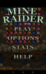 Mine Raider Match 3 Gems screenshot 1/6