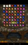 Mine Raider Match 3 Gems screenshot 3/6
