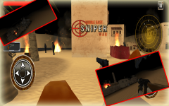 Arab Sniper Assassin Shoot War screenshot 2/6