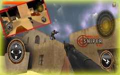 Arab Sniper Assassin Shoot War screenshot 4/6