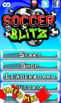Soccer Blitz screenshot 1/6