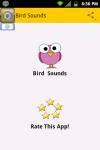 Bird Sound Effects screenshot 1/3
