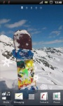 Snowboard Sport on Winter Live Wallpaper screenshot 1/3