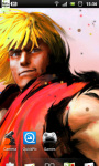 Street Fighter Live Wallpaper 2 screenshot 2/3