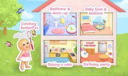 Sweet Baby Girl - Dream House - 5 in 1 Mini Games screenshot 1/6