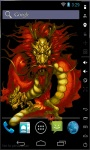 Magic Red Dragon Live Wallpaper screenshot 1/3