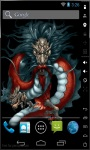 Magic Red Dragon Live Wallpaper screenshot 2/3