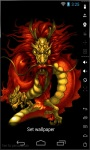 Magic Red Dragon Live Wallpaper screenshot 3/3