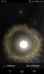 Live Wallpaper Solar System 3D  screenshot 2/6
