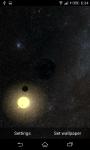 Live Wallpaper Solar System 3D  screenshot 3/6