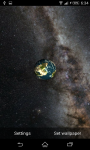 Live Wallpaper Solar System 3D  screenshot 4/6