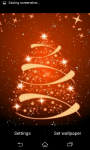 Glowing Christmas Tree Live Wallpaper screenshot 1/6