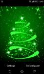 Glowing Christmas Tree Live Wallpaper screenshot 2/6