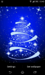 Glowing Christmas Tree Live Wallpaper screenshot 3/6