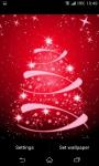 Glowing Christmas Tree Live Wallpaper screenshot 4/6