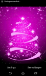 Glowing Christmas Tree Live Wallpaper screenshot 5/6