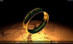 The One Ring 3D LWP screenshot 3/3