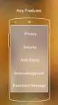 Cashew Secure Android Messenger  screenshot 1/3
