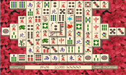 Mahjong solitaire flash screenshot 2/3