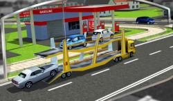 3D Car Transport Trailer  only screenshot 2/6