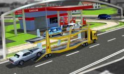 3D Car Transport Trailer  only screenshot 5/6