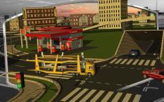 3D Car Transport Trailer  only screenshot 6/6
