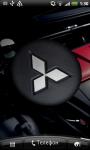 Mitsubishi 3D Logo Live Wallpaper screenshot 1/6