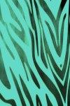 Teal Zebra Print Live Wallpaper screenshot 2/2