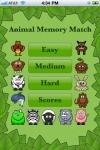 Animal Memory Match Free - Fun for kids!!! screenshot 1/1