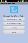 Flags of the World QUIZZ screenshot 1/4