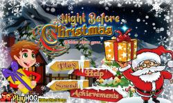 Free Hidden Object Games - Night before Christmas screenshot 1/4