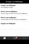 Google Live Wallpaper Free screenshot 2/5