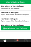 Algeria National Team Wallpaper screenshot 2/5