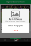 Algeria National Team Wallpaper screenshot 5/5