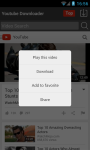 Free YouTube Videos Downloader screenshot 1/6