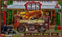 Free Hidden Object Games - Gas Station screenshot 1/4