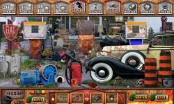 Free Hidden Object Games - Gas Station screenshot 3/4